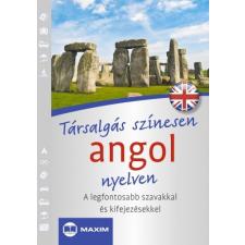 - TÁRSALGÁS SZÍNESEN ANGOL NYELVEN nyelvkönyv, szótár