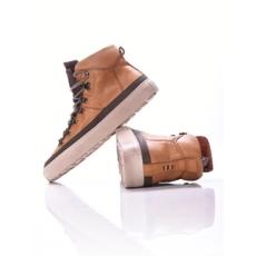 NAPAPIJRI férfi utcai cipő Bever, barna, bőr, természetes, 40
