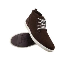 Sealand férfi utcai cipő Atlanta, barna, bőr, velúr, 41