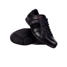 Levis férfi utcai cipő, fekete, bőr, természetes, 42
