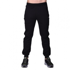 Russel Athletic Jogging alsó, Russel Athletic Russell Cuffed Pant, férfi, fekete, poliészter, L