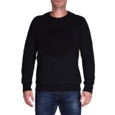 Converse belebújós pulóver Embossed Graphic Crew, férfi, fekete, pamut, L