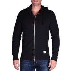 Converse végig cipzáros pulóver Sportswear Fullzip Hood, férfi, fekete, pamut, L