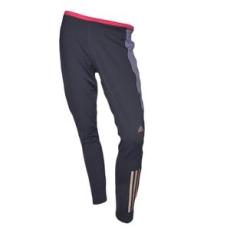 Adidas PERFORMANCE futós nadrág SN L TI W, női, fekete, poliészter, XL