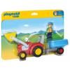 Playmobil Pali bácsi traktoron (6964)
