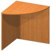 Ívelt sarok asztal, cseresznye, TEMPO ASISTENT NEW 024