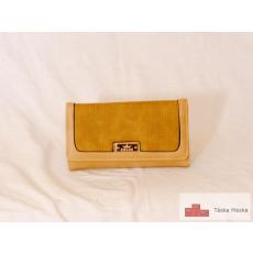 P094 Eslee sárga női pénztárca