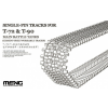 Meng-Modell MENG-Model Single-Pin Tracks for T-72 & T-90 Main Battle Tanks(Cement-Free workable makett SPS-029