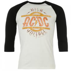 Official ACDC Raglan póló férfi