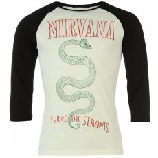 Official Nirvana Raglan póló férfi