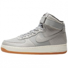Nike Air Force 1 HI Premium női sportcipő, Wolf Grey, 36 (654440-008-5.5)