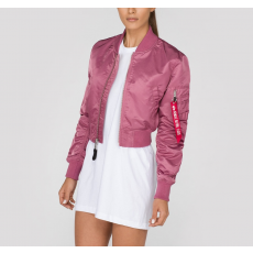 Alpha Industries MA-1 PM CROPPED NŐI - dusty pink