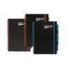 """Pukka pad Spirálfüzet, A4, vonalas, 100 lap, , """"Neon project book"""""""