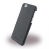 Cerruti 1881 iPhone 6/6S Smooth Split Leather Hard hátlap, tok, fekete