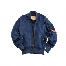 Alpha Industries MA-1 TT Long - replica blue