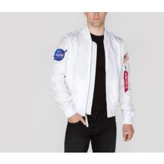 Alpha Industries MA-1 TT NASA Reversible - fehér