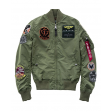 Alpha Industries MA-1 TT Patch  - sage green