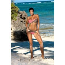 marko Bikini Olimpia Tripoli-Origami-Vanilla M-438 mokka/rózsaszín