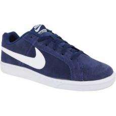 Nike Court Royale Suede Férfi Sportcipő, Midnight Navy/White, 45 (819802-410-11)
