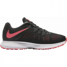 Nike Zoom Winflo 3 Női futócipő, Black/Hot Punch, 38.5 (831562-010-7.5)