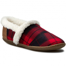 TOMS Zártpapucs TOMS - Plaid Slipper 10008883 Red/Black