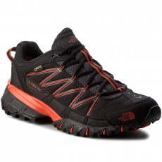 The North Face Bakancs THE NORTH FACE - Ultra 110 Gtx (Eu) T92VVVTHU Tnf Black/Tibetan Orange