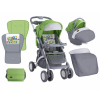Lorelli Apollo SET sport babakocsi - Green&Grey Car 2017