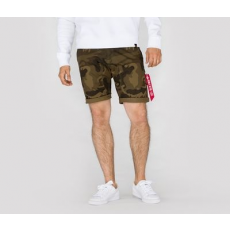 Alpha Industries KEROSENE SHORT CAMO - olive camo