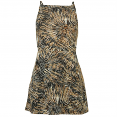 Firetrap Ruha Firetrap Blackseal Feather Print női