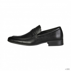 V 1969 by Versace férfi Moccasins BARRY_fekete