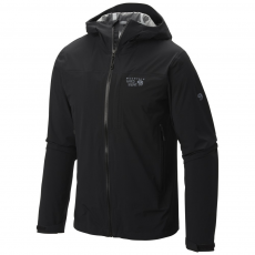 Mountain Hardwear Stretch Ozonic Jacket Esőkabát,széldzseki D (1584001-q_090-Black)