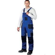 Kék Mellesnadrág FORMEN, 65% poliészter és 35% pamut  (Dizájnos munkaruha)
