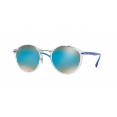 Ray-Ban RB4242 6289B7 TRASPARENT BROWN GRADIENT MIRROR BLUE napszemüveg