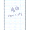 Avery 3651- 52,5x29,7mm FEHÉR AVERY 100lap/dob Etikett
