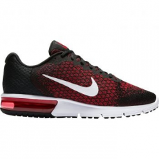 Nike Air Max Sequent 2 férfi futócipő, Black/Team Red, 44 (852461-006-10)
