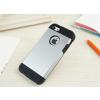 iPhone 5 5S műanyag bumper ezüst színben