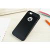 iPhone 5 5S műanyag bumper fekete színben