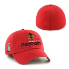 47 Brand Chicago Blackhawks Siltes sapka 2015 Stanley Cup Champions Franchise RED - L