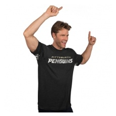 Pittsburgh Penguins NHL Póló Hands High Tri-Blend - M