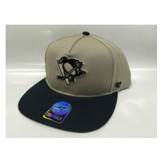 47 Brand Pittsburgh Penguins Siltes sapka Chaff Two Tone Snapback