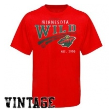 Old Time Hockey Minnesota Wild Póló NHL Knuckles - S
