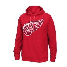 Reebok Detroit Red Wings Pulóver Playbook Hood 2016 - M