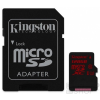 Kingston microSDXC 128GB (Class 10), U3 UHS-I memóriakártya adapterrel (SDCA3/128GB)