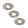 Paulmann 92025 - SET 3x LED Beépíthető lámpa QUALITY LINE 3xGU10-LED/3,5W