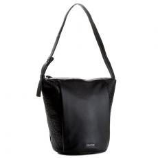 Calvin Klein Black Label Táska CALVIN KLEIN BLACK LABEL - Mish4 Elongated Bucket Bag K60K602701 001