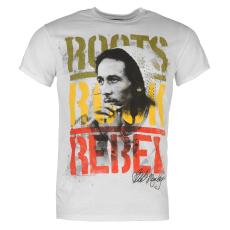 Official Bob Marley férfi póló fehér L