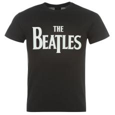 Official The Beatles férfi póló fekete M
