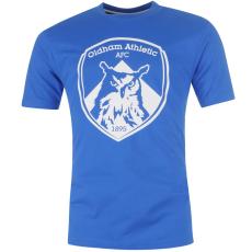 Team Athletic Crest férfi póló kék M