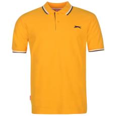 Slazenger Tipped férfi galléros póló narancs XXL