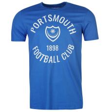 Team Portsmouth Graphic férfi póló királykék L